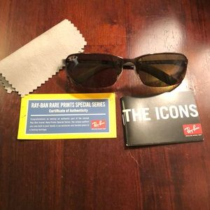 Brand new polarized authentic ray ban sunglasses